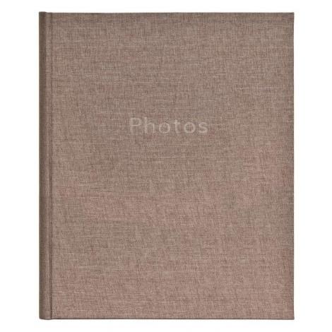 Zastrkávací fotoalbum 10x15/36 PURE LINEN  šedé