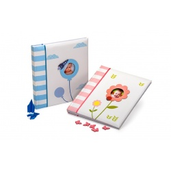 Dětské fotoalbum na růžky SWEET BABY modré