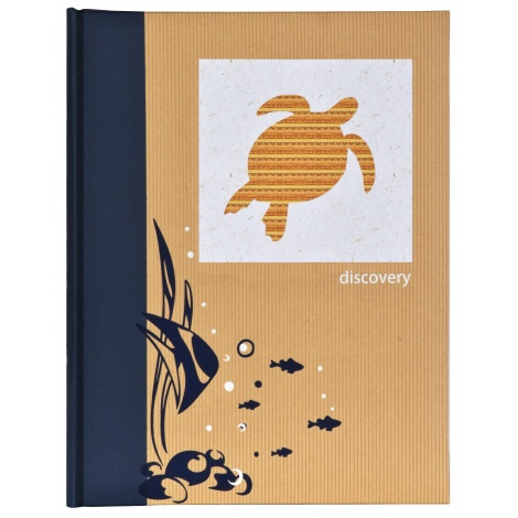 Samolepící fotoalbum 25x32/30stran DISCOVERY turtle